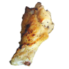 ミニ骨付鳥 + ¥150琴平のこんぴらにんにく、伊吹島のいりこ、干しエビ、香川県の在来種である唐辛子「香川本鷹」を使用。讃岐の旨みをぎゅっと詰め込んだ醤油で漬け込みました。